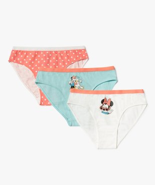 Culotte fille motif Minnie (lot de 3) - Disney vue1 - DISNEY DTR - Nikesneakers