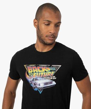 Tee-shirt homme avec motif Retour vers le futur vue2 - NBCUNIVERSAL - GEMO