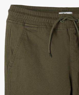 Pantalon garçon coupe cargo vue2 - GEMO (ENFANT) - GEMO