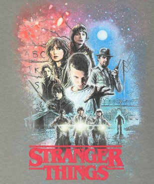 Tee-shirt garçon avec motif XXL – Stranger Things vue2 - STRANGER THINGS - GEMO