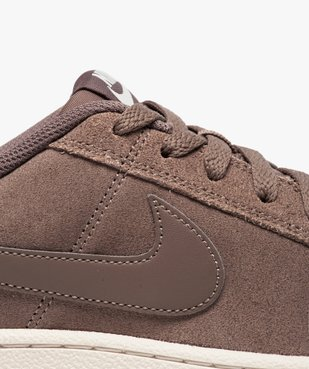 Basket basse en cuir suédé - Nike Court Royale Suede vue6 - NIKE - GEMO