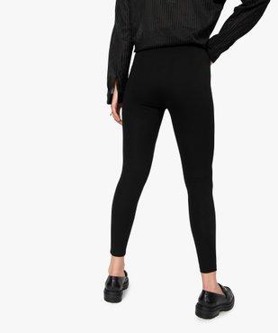 Leggings femme avec zip décoratifs sur l'avant vue3 - Nikesneakers(FEMME PAP) - Nikesneakers