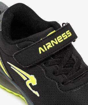 Baskets garçon bicolores à lacets – Airness vue6 - AIRNESS - GEMO