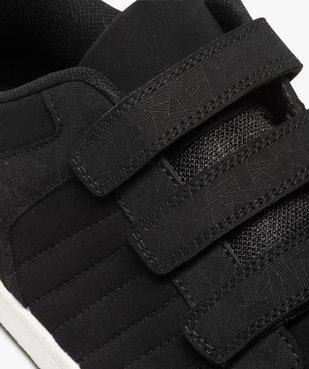 Baskets homme style skateshoes fermeture scratchs vue6 - GEMO (HOMME) - GEMO