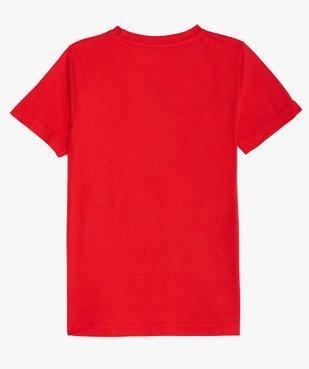 Tee-shirt garçon imprimé Flash - DC Comics vue3 - DC COMICS - GEMO