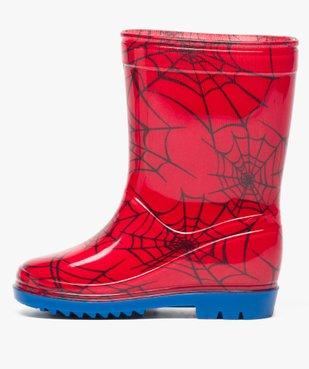 Bottes de pluie garçon à imprimé Spiderman vue3 - SPIDERMAN - GEMO