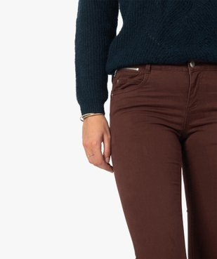 Pantalon femme coupe slim effet push-up vue2 - Nikesneakers(FEMME PAP) - Nikesneakers