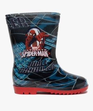 Bottes de pluie garçon - Spiderman vue1 - SPIDERMAN - GEMO