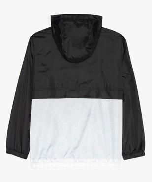 Blouson garçon coupe-vent bicolore avec capuche vue3 - Nikesneakers (JUNIOR) - Nikesneakers