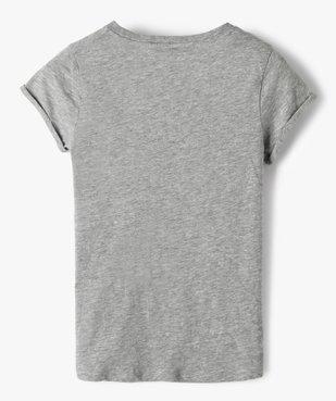 Tee-shirt fille avec motif pailleté – Camps United vue4 - CAMPS UNITED - Nikesneakers