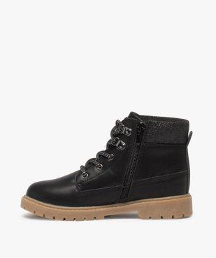 Boots fille avec col fantaisie et semelle crantée vue3 - Nikesneakers (ENFANT) - Nikesneakers