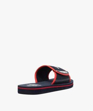 Mules de piscine garçon bicolores à scratch - Umbro vue4 - UMBRO - Nikesneakers