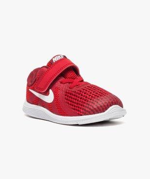 Baskets basses lacets et scratchs Nike Revolution 4 vue2 - NIKE - GEMO