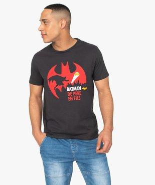 Tee-shirt homme à motif sur l'avant – Batman vue1 - BATMAN - GEMO