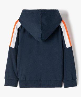 Sweat garçon en molleton à zip et capuche vue3 - Nikesneakers (ENFANT) - Nikesneakers