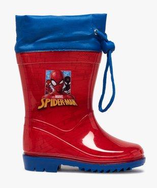 Bottes de pluie garçon à col ajustable – Spiderman vue1 - SPIDERMAN - GEMO