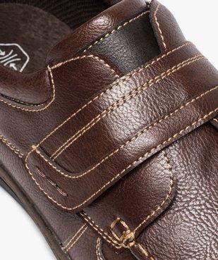 Chaussures bateau homme confort fermeture scratch vue6 - GEMO (CONFORT) - GEMO