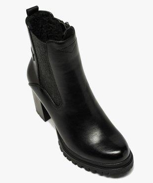 Boots femme à talon carré et tige unie – Tom Tailor vue5 - TOM TAILOR - GEMO