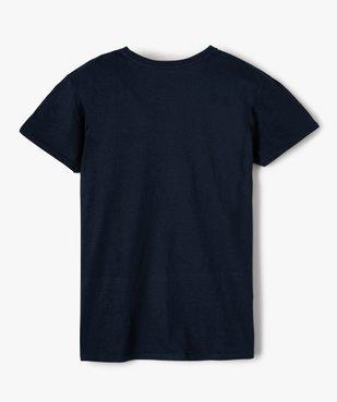 Tee-shirt garçon ado motif fantaisie football vue3 - SANS MARQUE - GEMO