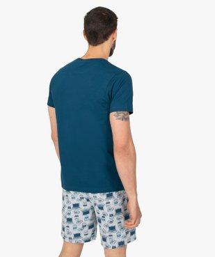 Pyjashort homme avec message – Les Minions 2 vue3 - NBCUNIVERSAL - GEMO