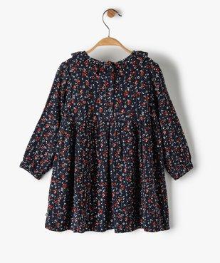 Robe bébé fille à motifs fleuris – Lulu Castagnette vue3 - LULUCASTAGNETTE - GEMO