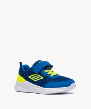 Chaussures de running garçon à lacets et scratch - Umbro vue2 - UMBRO - GEMO