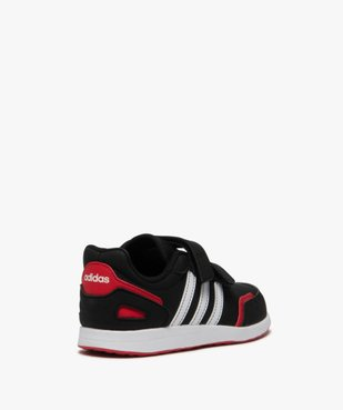 Baskets garçon bicolores à scratch – Adidas VS Switch vue4 - ADIDAS - GEMO