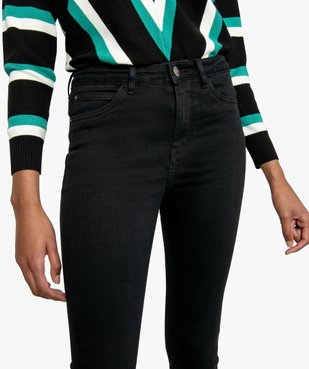 Jean femme extensible coupe Skinny flare vue2 - FOLLOW ME - GEMO