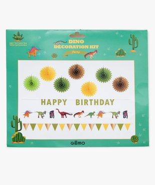 Kit de décoration anniversaire enfant thème dinosaures (10 pièces) vue2 - Nikesneakers (ACCESS) - Nikesneakers