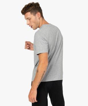 Tee-shirt homme à manches courtes avec inscription - Umbro vue5 - UMBRO - GEMO