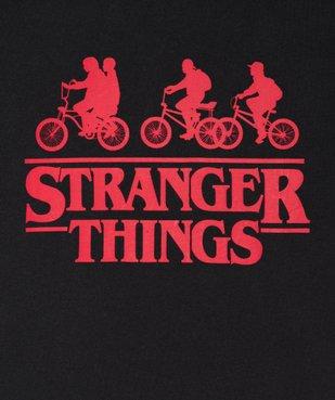 Tee-shirt garçon avec motif contrastant – Stranger Things vue2 - STRANGER THINGS - GEMO
