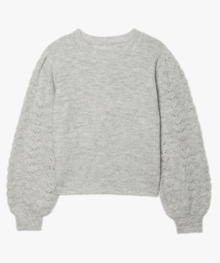 Pull femme en grosse maille à manches fantaisie vue4 - Nikesneakers C4G FEMME - Nikesneakers