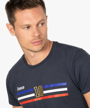 Tee-shirt homme à manches courtes imprimé football vue2 - GEMO C4G HOMME - GEMO