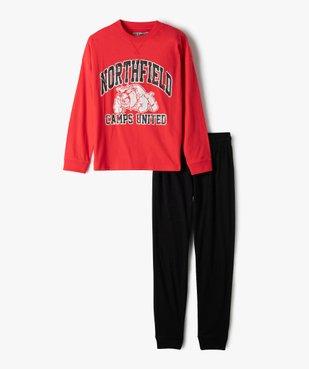 Pyjama garçon esprit sportswear - Camps United vue1 - CAMPS UNITED - GEMO