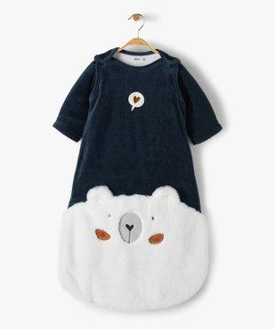 Gigoteuse bébé à manches amovibles avec motif our vue1 - GEMO(BB COUCHE) - GEMO
