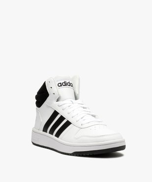 Baskets homme semi-montantes à lacets – Adidas Hoops Mid vue2 - ADIDAS - GEMO