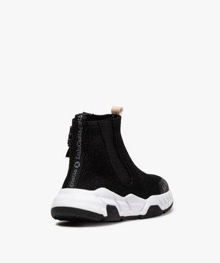 Baskets fille montantes style chaussettes - LuluCastagnette vue3 - LULU CASTAGNETT - Nikesneakers