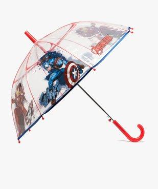 Parapluie garçon transparent à motifs - Avengers vue1 - AVENGERS - GEMO
