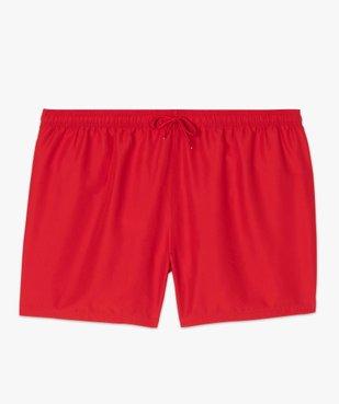 Short de bain homme uni vue4 - Nikesneakers (PLAGE) - Nikesneakers