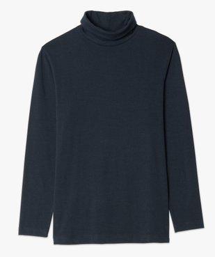 Tee-shirt homme ajusté à col roulé vue4 - GEMO (HOMME) - GEMO