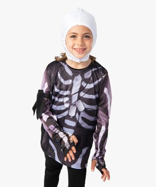 Déguisement enfant Skull Trooper - Fortnite vue1 - FORTNITE - GEMO