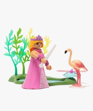 Jouet enfant Princesse et mare - Playmobil vue2 - DIVERS LICENCE - GEMO