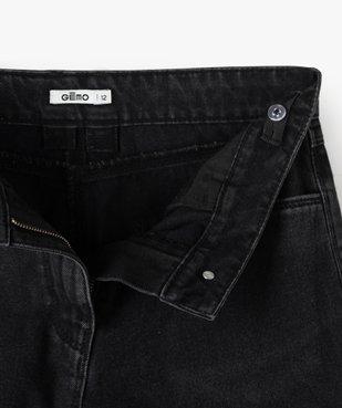 Short fille en jean ultra court taille haute vue4 - GEMO (JUNIOR) - GEMO
