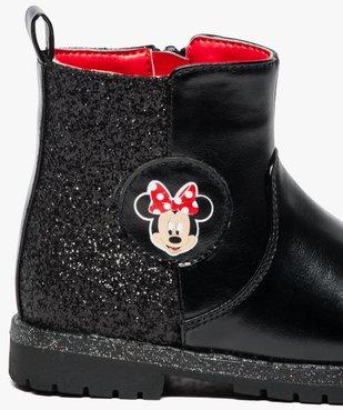Boots pailletées avec motif Minnie - Disney vue6 - MINNIE - GEMO