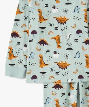 Pyjama garçon avec motifs dinosaures vue2 - GEMO (ENFANT) - GEMO