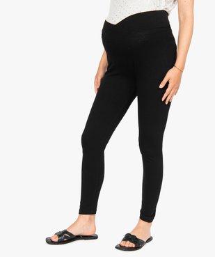 Pantalon de grossesse en maille style legging avec ceinture croisée vue1 - Nikesneakers (MATER) - Nikesneakers