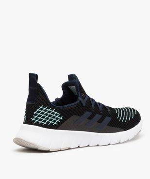 Baskets homme multicolores à lacets – Adidas X Parley vue4 - ADIDAS - GEMO