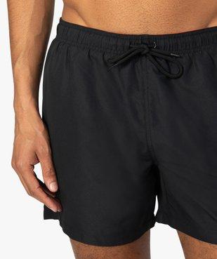 Short de bain homme uni vue2 - GEMO (PLAGE) - GEMO