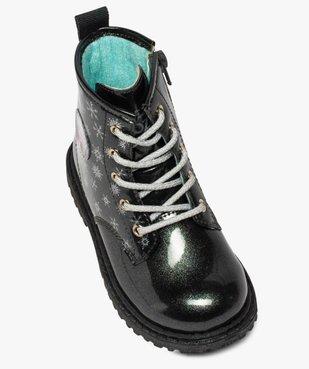 Boots fille pailletés à semelle crantée – Reine des Neiges vue5 - REINE DES NEIGE - GEMO