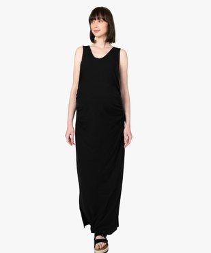 Robe de grossesse sans manches longueur chevilles vue1 - GEMO (MATER) - GEMO